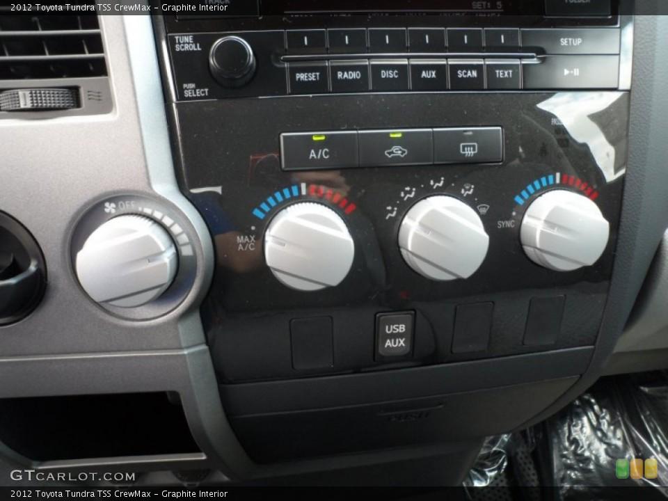Graphite Interior Controls for the 2012 Toyota Tundra TSS CrewMax #65673979