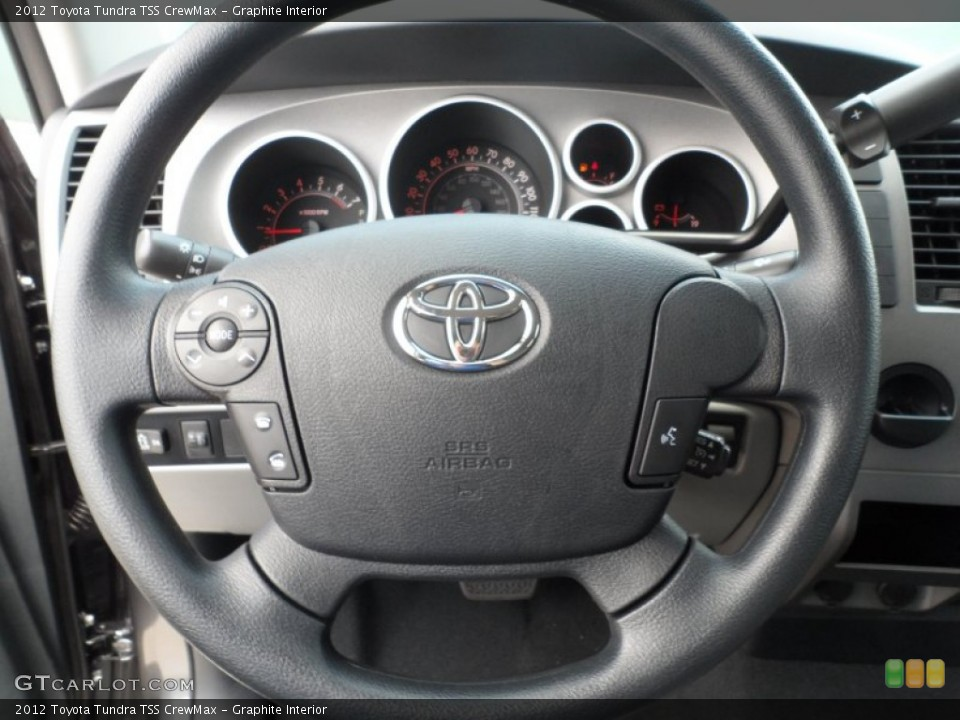 Graphite Interior Steering Wheel for the 2012 Toyota Tundra TSS CrewMax #65673982