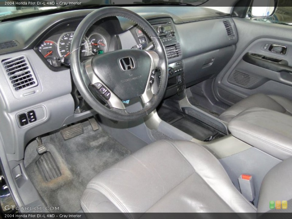 Gray Interior Prime Interior for the 2004 Honda Pilot EX-L 4WD #65779850