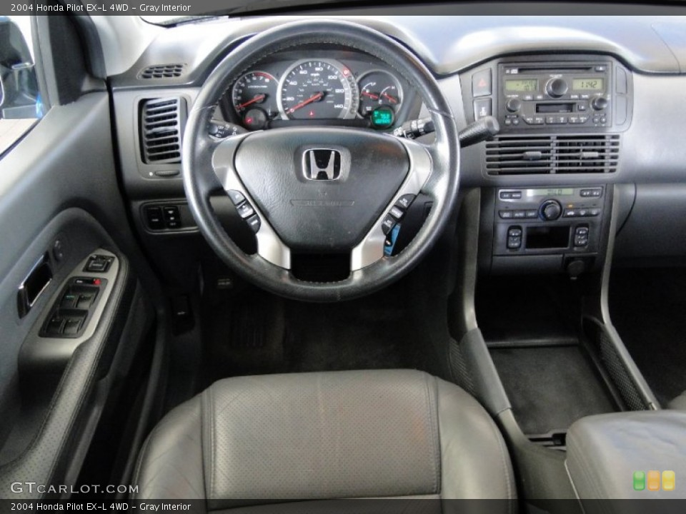 Gray Interior Dashboard for the 2004 Honda Pilot EX-L 4WD #65779907