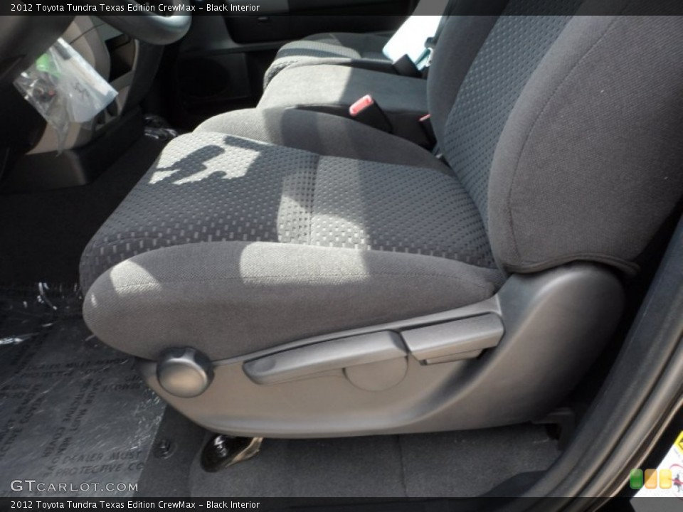Black Interior Front Seat for the 2012 Toyota Tundra Texas Edition CrewMax #65901495