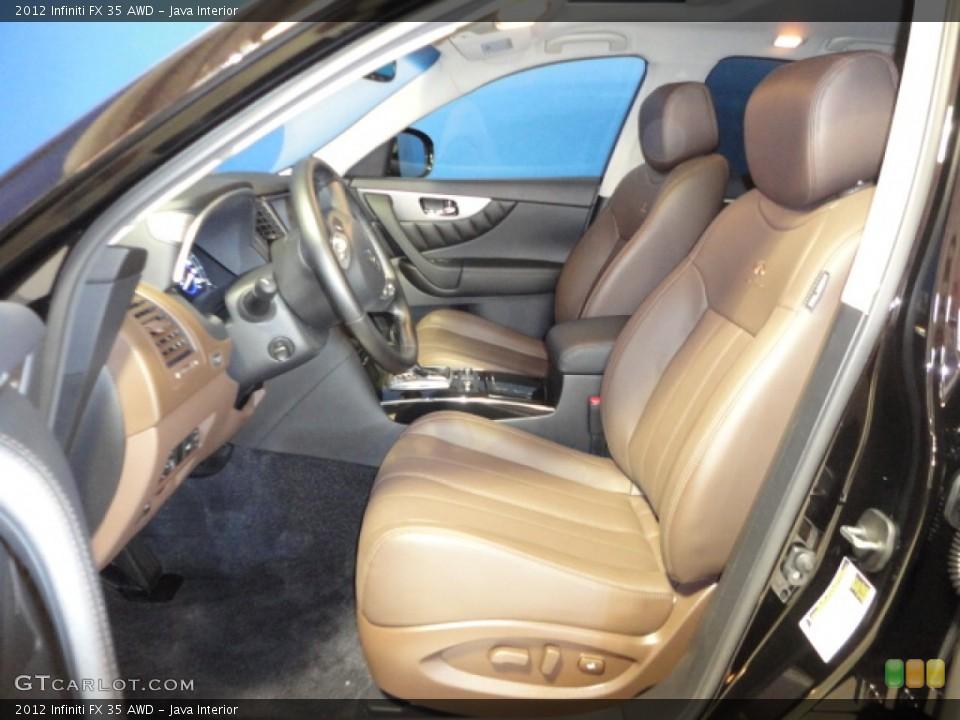 Java Interior Photo for the 2012 Infiniti FX 35 AWD #65942102