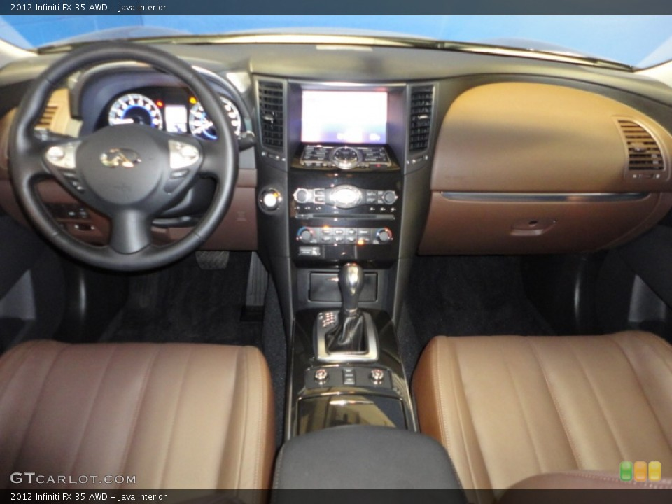 Java Interior Dashboard for the 2012 Infiniti FX 35 AWD #65942111