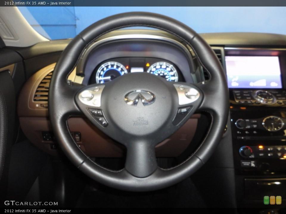 Java Interior Steering Wheel for the 2012 Infiniti FX 35 AWD #65942117