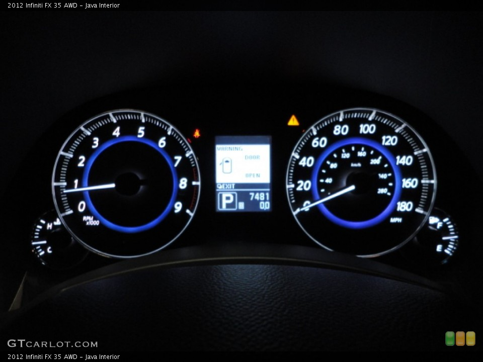 Java Interior Gauges for the 2012 Infiniti FX 35 AWD #65942126