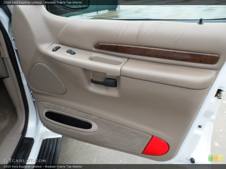 Medium Prairie Tan Interior Door Panel for the 2000 Ford Explorer Limited #65958095