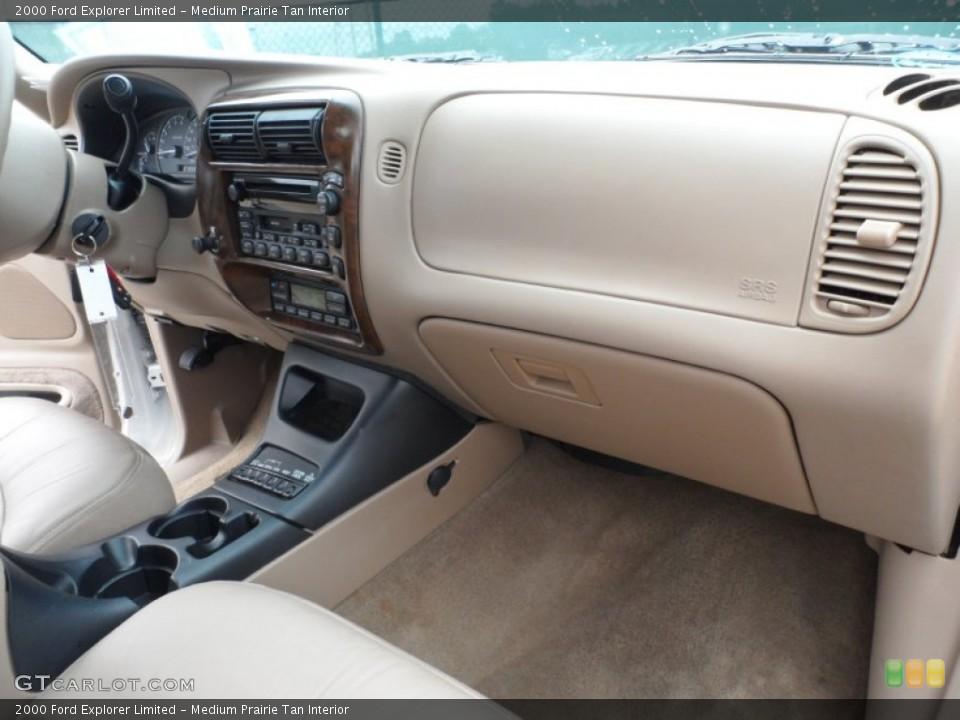 Medium Prairie Tan Interior Dashboard for the 2000 Ford Explorer Limited #65958104