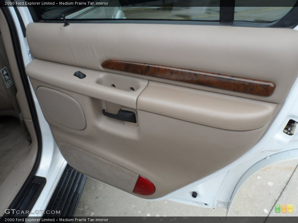 Medium Prairie Tan Interior Door Panel for the 2000 Ford Explorer Limited #65958119