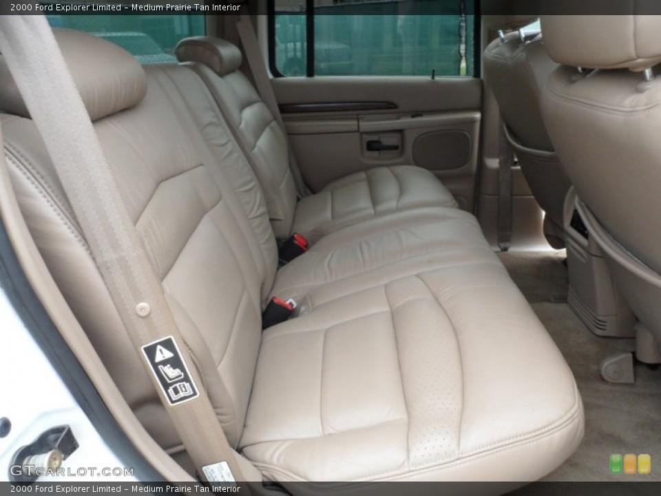 Medium Prairie Tan Interior Rear Seat for the 2000 Ford Explorer Limited #65958128