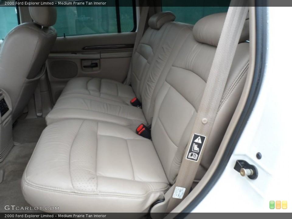 Medium Prairie Tan Interior Rear Seat for the 2000 Ford Explorer Limited #65958161