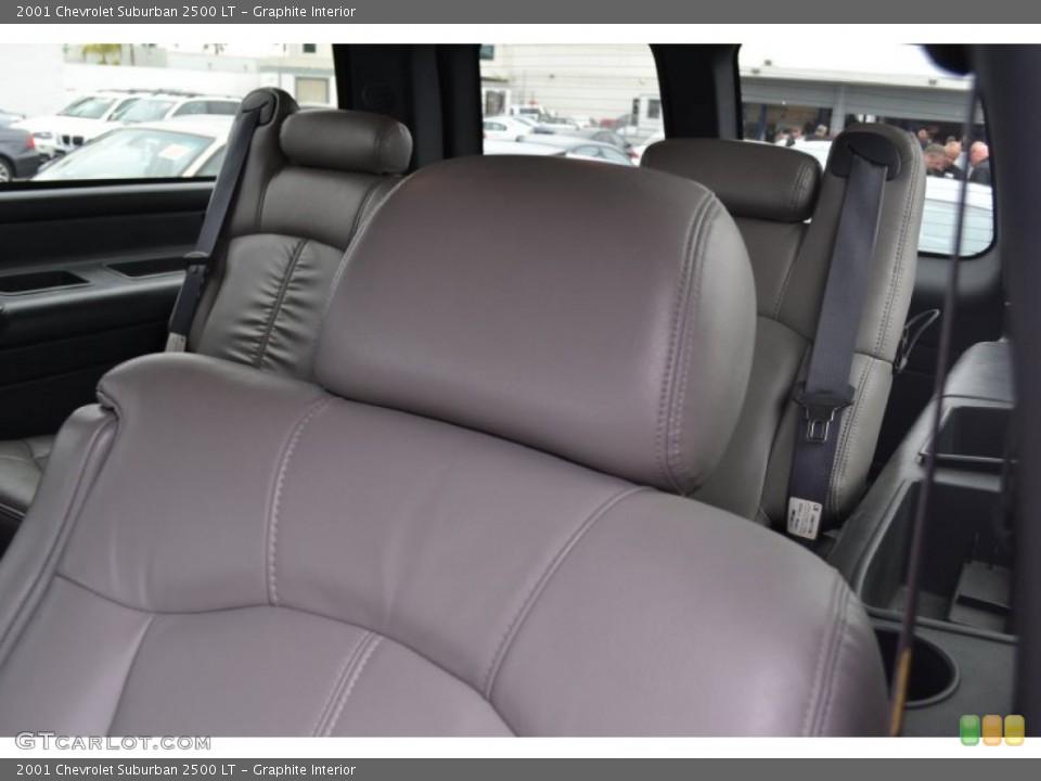 Graphite 2001 Chevrolet Suburban Interiors