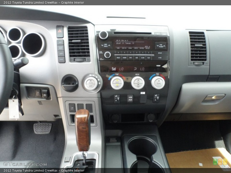 Graphite Interior Controls for the 2012 Toyota Tundra Limited CrewMax #66172928