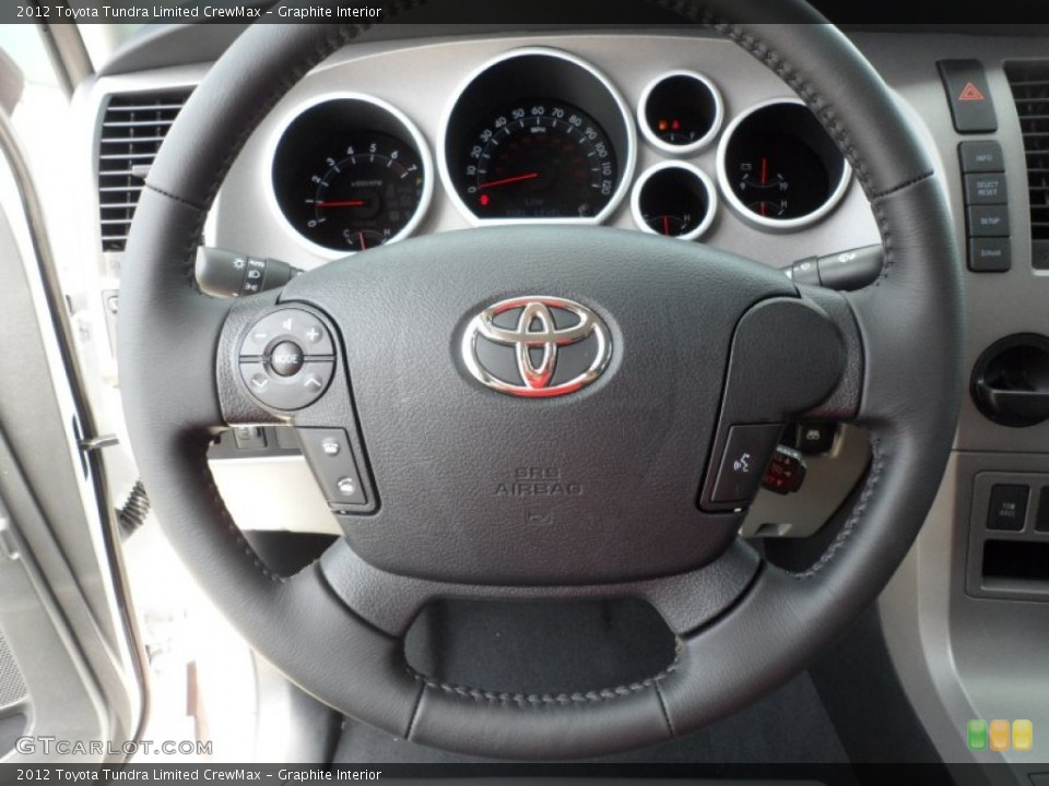 Graphite Interior Steering Wheel for the 2012 Toyota Tundra Limited CrewMax #66172964