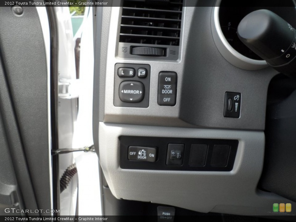 Graphite Interior Controls for the 2012 Toyota Tundra Limited CrewMax #66172985