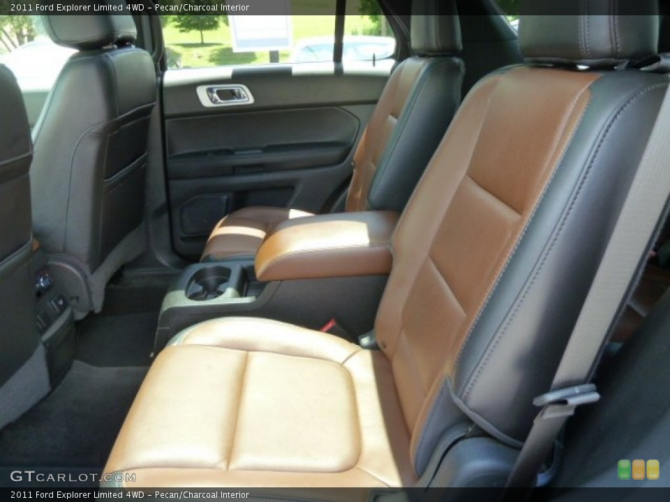 Pecan/Charcoal Interior Photo for the 2011 Ford Explorer Limited 4WD #66266823