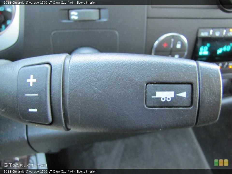 Ebony Interior Transmission for the 2011 Chevrolet Silverado 1500 LT Crew Cab 4x4 #66289941