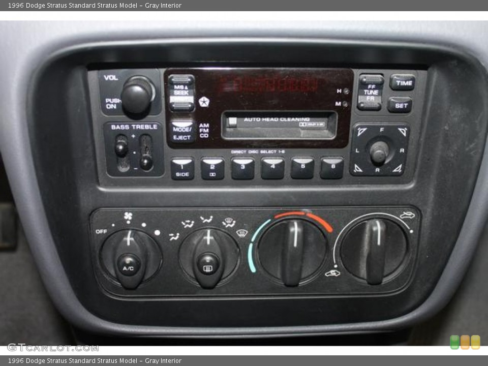 ... Interior Controls for the 1996 Dodge Stratus #66534803 | GTCarLot.com