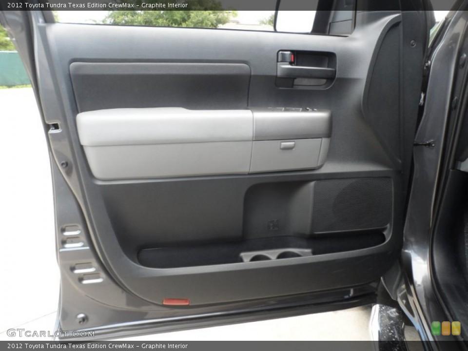 Graphite Interior Door Panel for the 2012 Toyota Tundra Texas Edition CrewMax #66713357