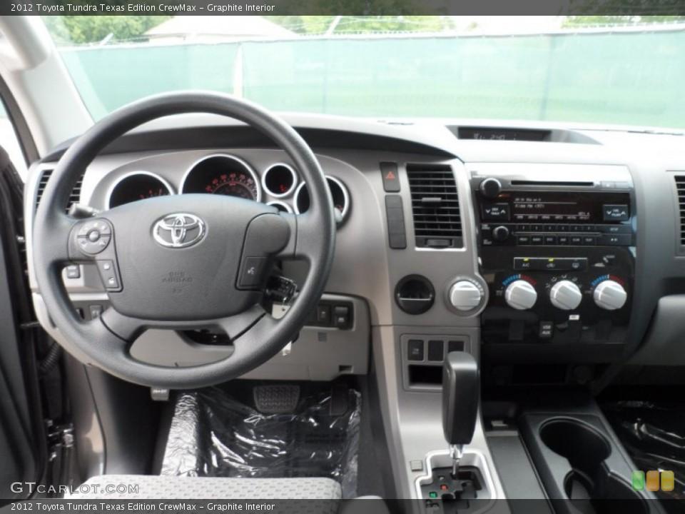 Graphite Interior Dashboard for the 2012 Toyota Tundra Texas Edition CrewMax #66713392