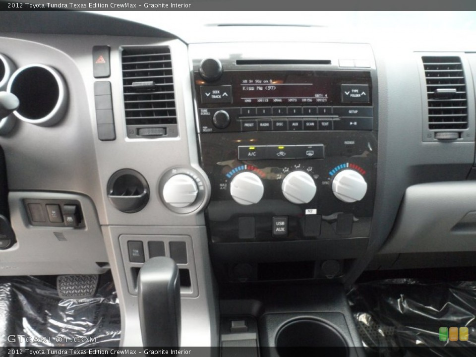 Graphite Interior Controls for the 2012 Toyota Tundra Texas Edition CrewMax #66713399