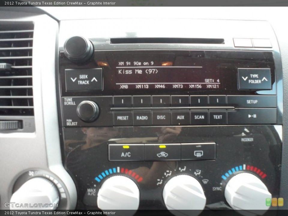 Graphite Interior Controls for the 2012 Toyota Tundra Texas Edition CrewMax #66713408