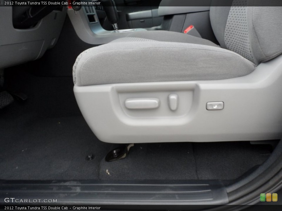 Graphite Interior Front Seat for the 2012 Toyota Tundra TSS Double Cab #66713681