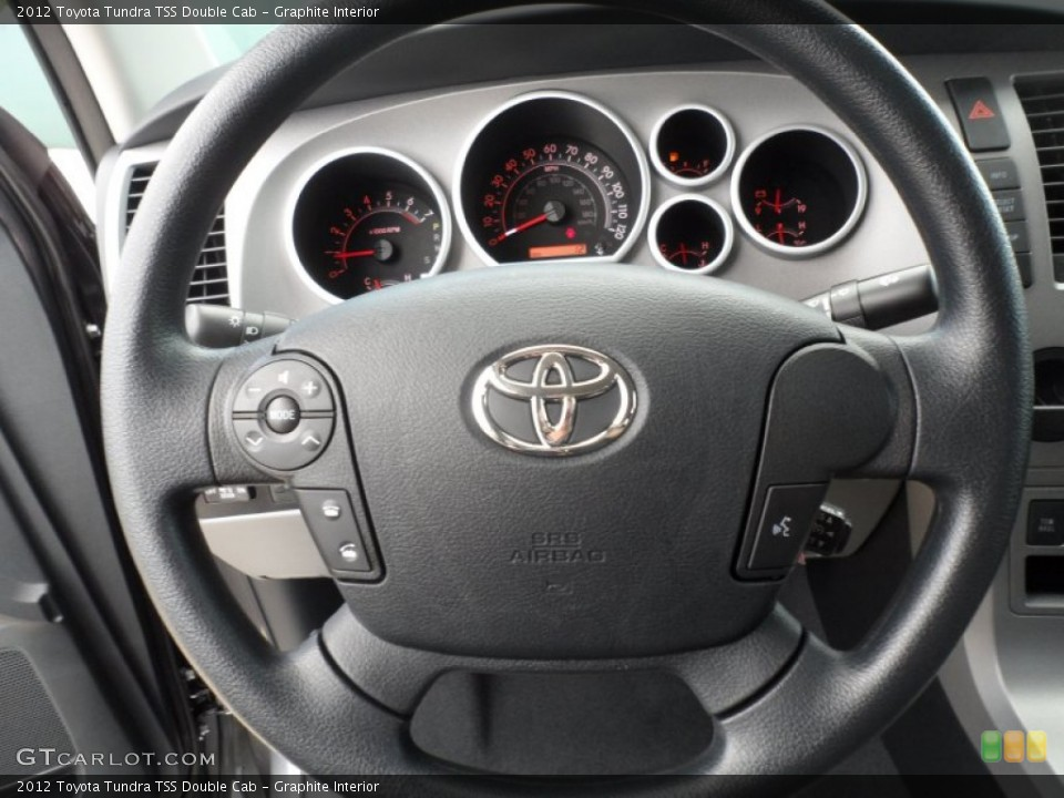 Graphite Interior Steering Wheel for the 2012 Toyota Tundra TSS Double Cab #66713726