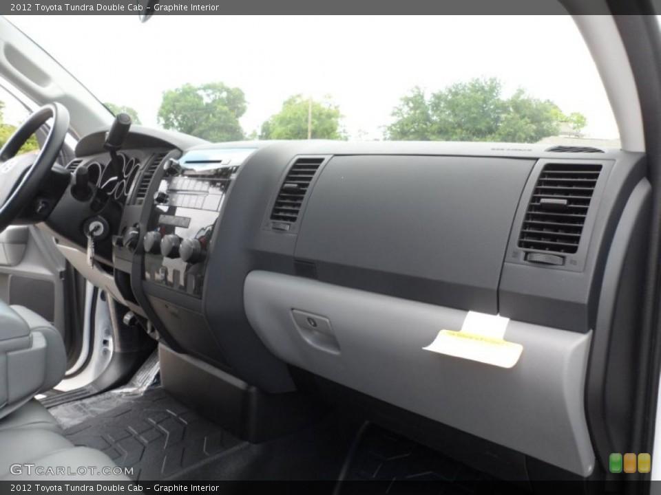 Graphite Interior Dashboard for the 2012 Toyota Tundra Double Cab #66713892