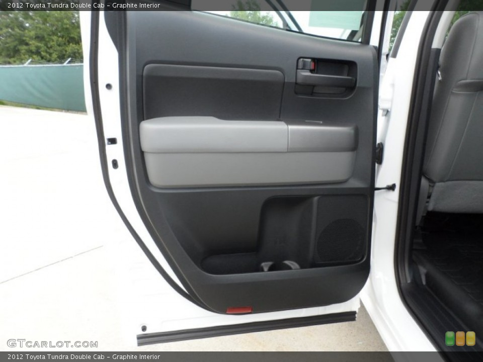 Graphite Interior Door Panel for the 2012 Toyota Tundra Double Cab #66713902