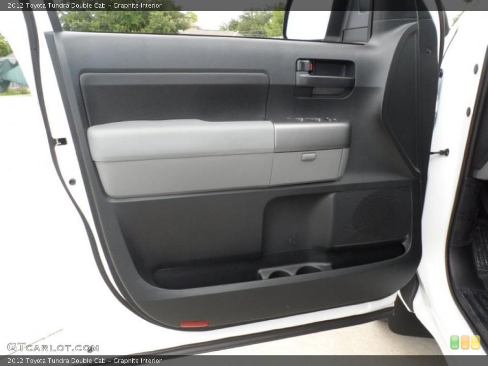 Graphite Interior Door Panel for the 2012 Toyota Tundra Double Cab #66713924