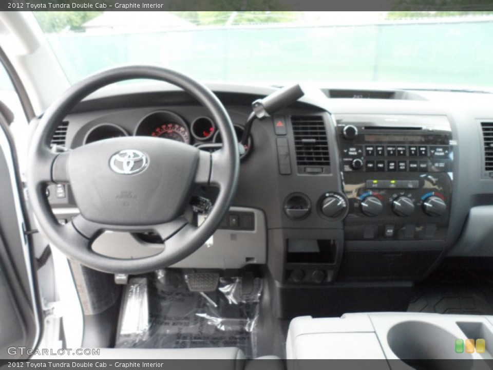 Graphite Interior Dashboard for the 2012 Toyota Tundra Double Cab #66713957