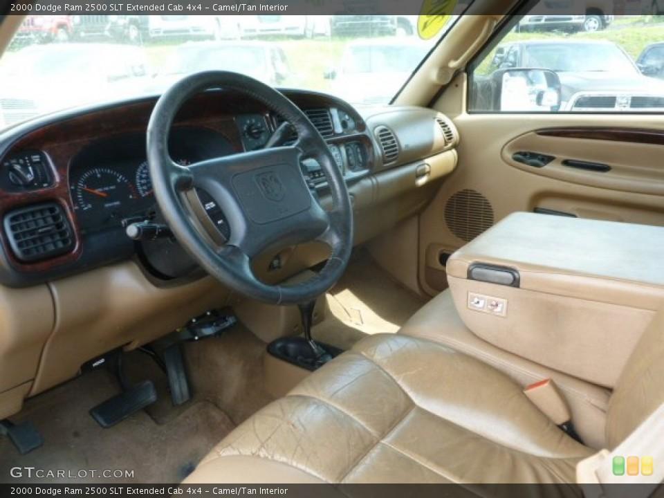 Camel/Tan 2000 Dodge Ram 2500 Interiors
