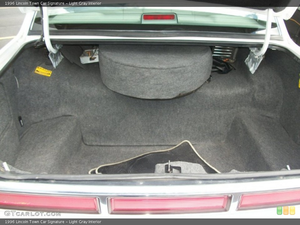 Light Gray Interior Trunk for the 1996 Lincoln Town Car Signature #66832673