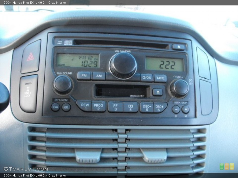 Gray Interior Audio System for the 2004 Honda Pilot EX-L 4WD #66915961