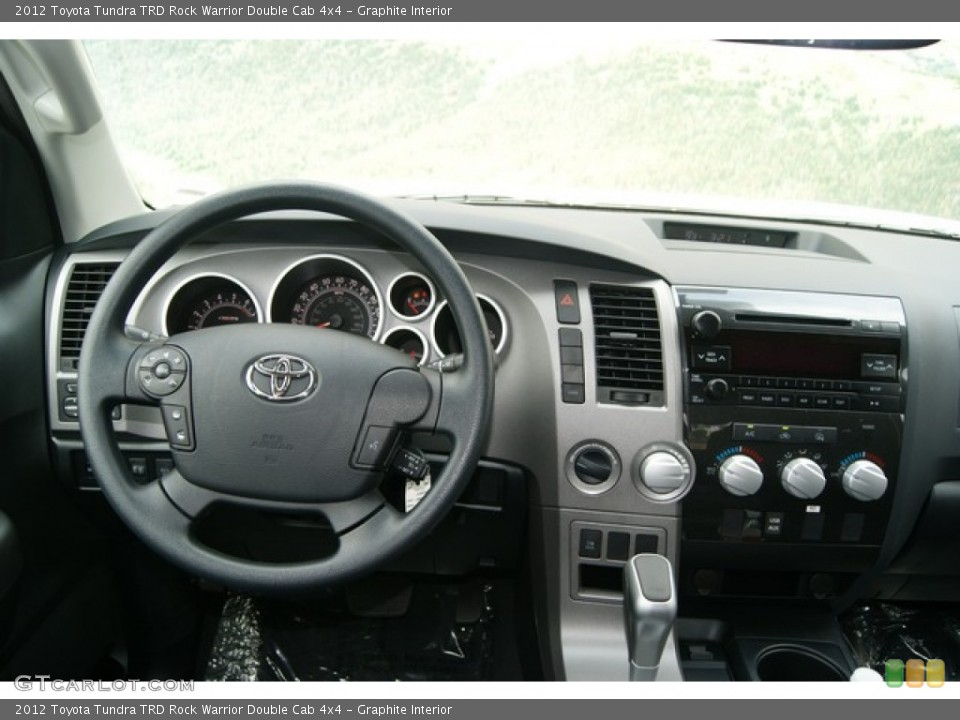 Graphite Interior Dashboard for the 2012 Toyota Tundra TRD Rock Warrior Double Cab 4x4 #67251609