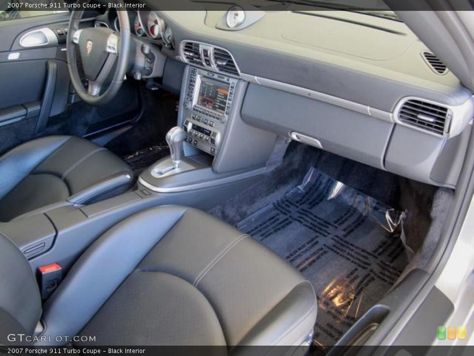 Black Interior Photo for the 2007 Porsche 911 Turbo Coupe #67351814