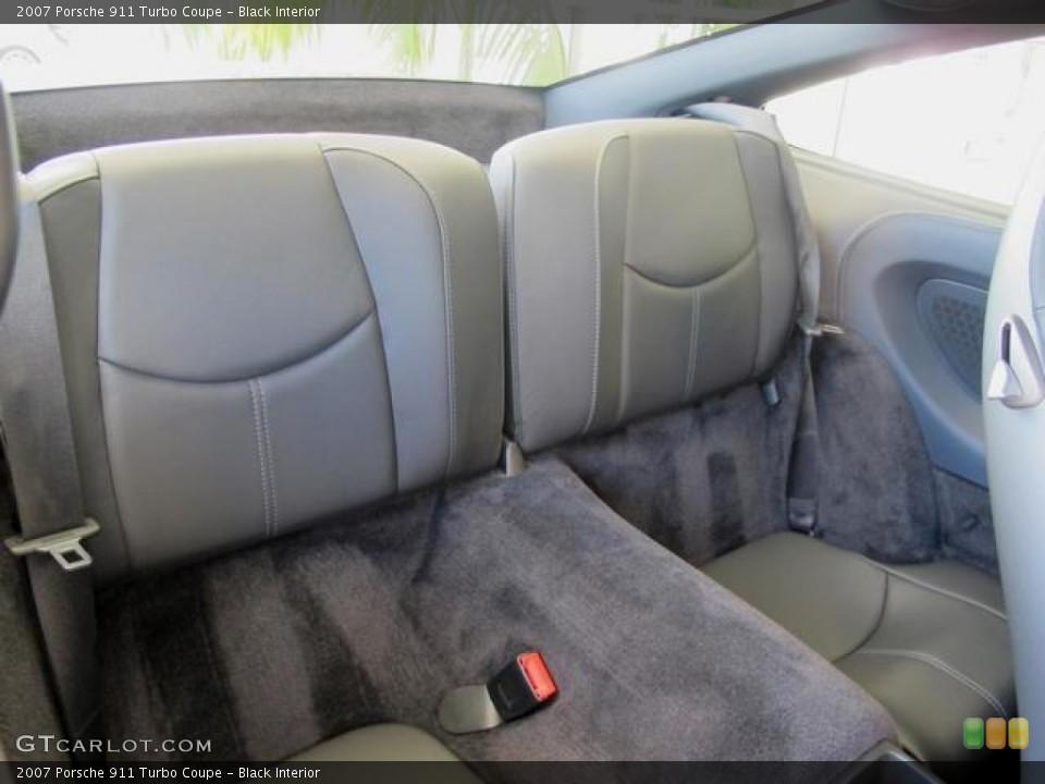 Black Interior Photo for the 2007 Porsche 911 Turbo Coupe #67351823