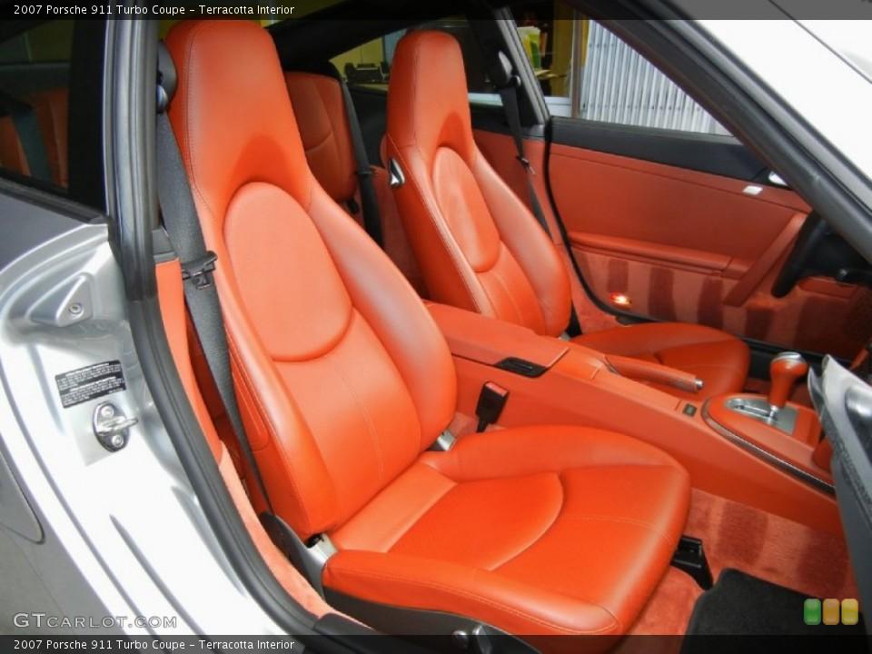 Terracotta Interior Photo for the 2007 Porsche 911 Turbo Coupe #67352870