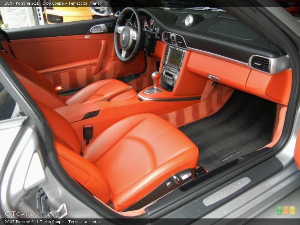 Terracotta Interior Photo for the 2007 Porsche 911 Turbo Coupe #67352878
