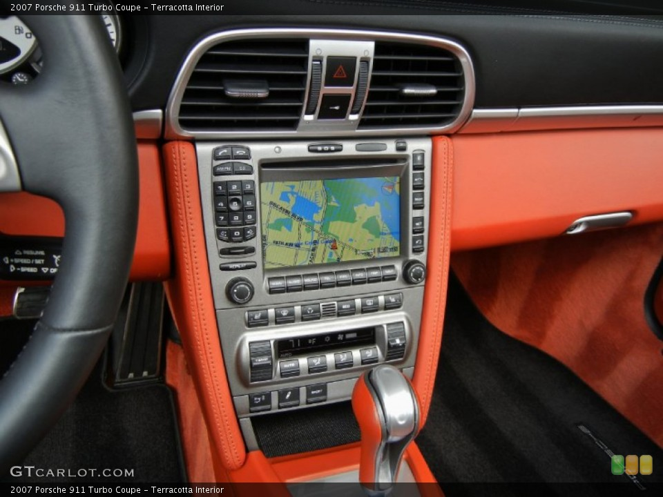 Terracotta Interior Navigation for the 2007 Porsche 911 Turbo Coupe #67352966