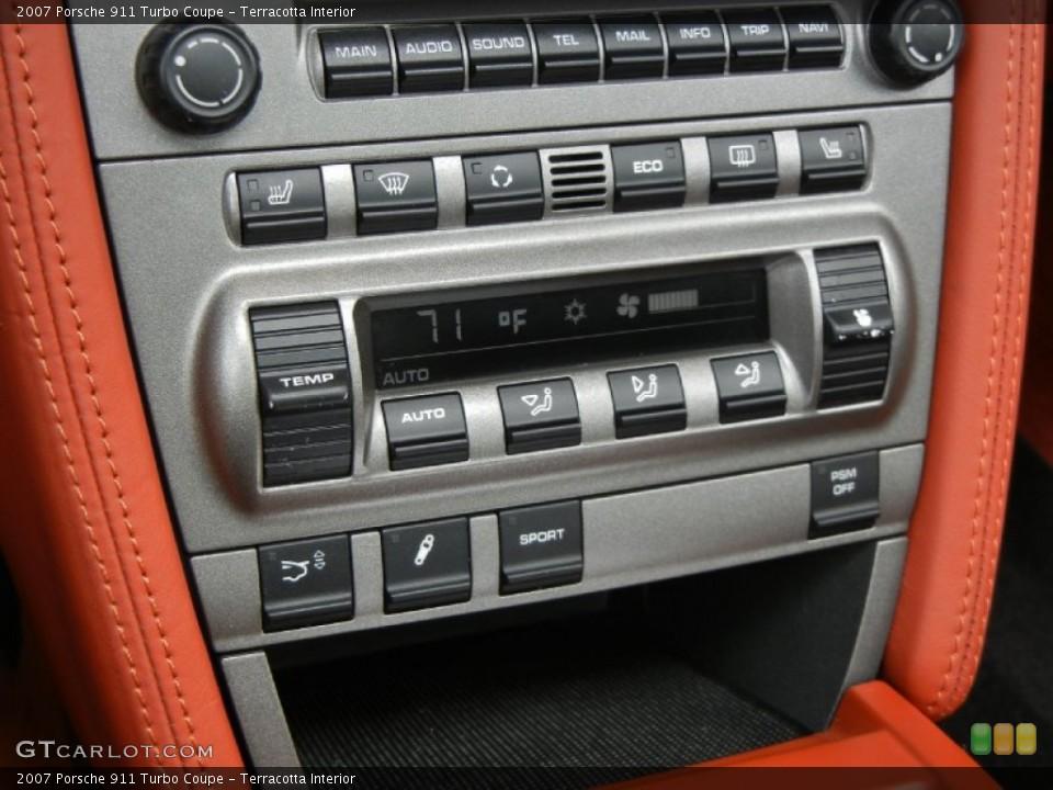 Terracotta Interior Controls for the 2007 Porsche 911 Turbo Coupe #67352984