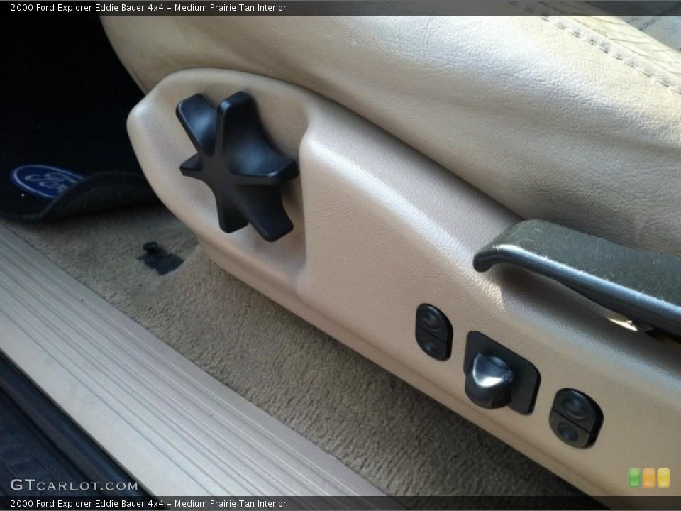 Medium Prairie Tan Interior Controls for the 2000 Ford Explorer Eddie Bauer 4x4 #67360115