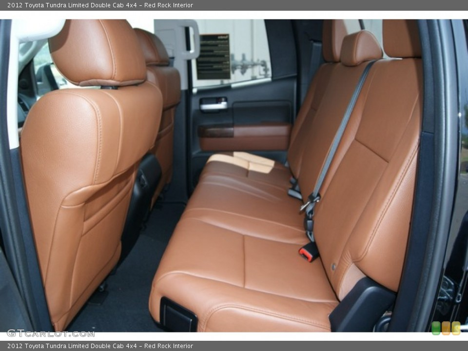 Red Rock Interior Photo for the 2012 Toyota Tundra Limited Double Cab 4x4 #67585090