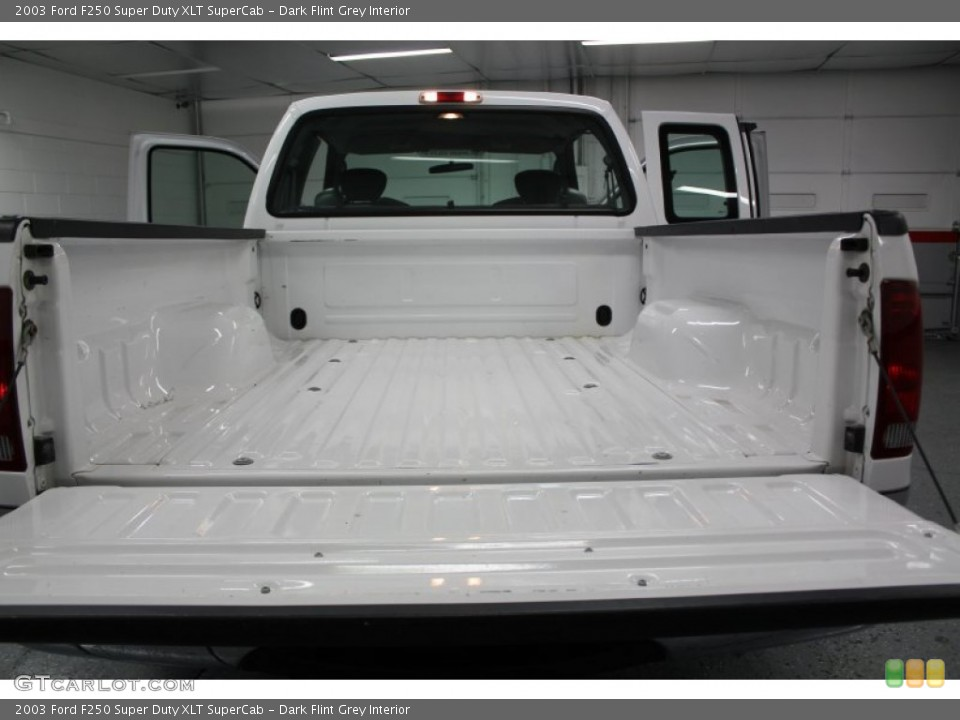 Dark Flint Grey Interior Trunk for the 2003 Ford F250 Super Duty XLT SuperCab #67641468