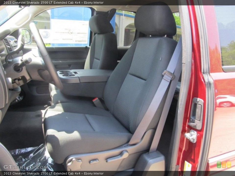 Ebony Interior Photo for the 2013 Chevrolet Silverado 1500 LT Extended Cab 4x4 #67645897