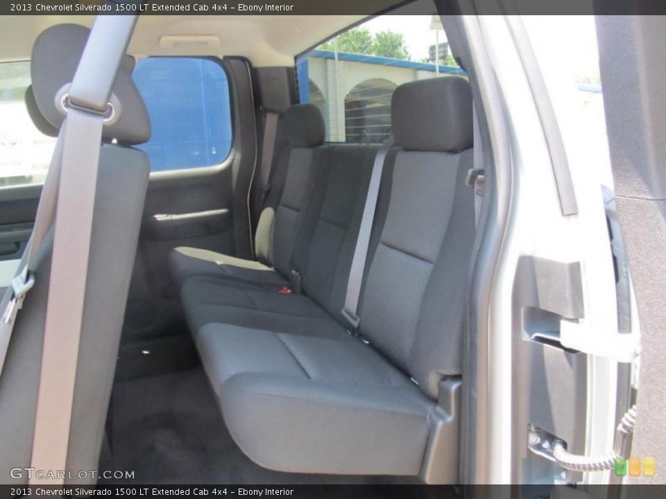 Ebony Interior Photo for the 2013 Chevrolet Silverado 1500 LT Extended Cab 4x4 #67646320