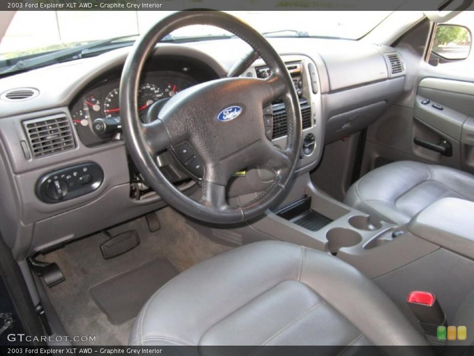 Graphite Grey 2003 Ford Explorer Interiors