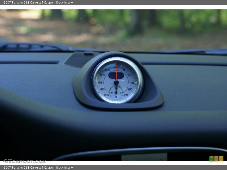 Black Interior Gauges for the 2007 Porsche 911 Carrera S Coupe #68172756