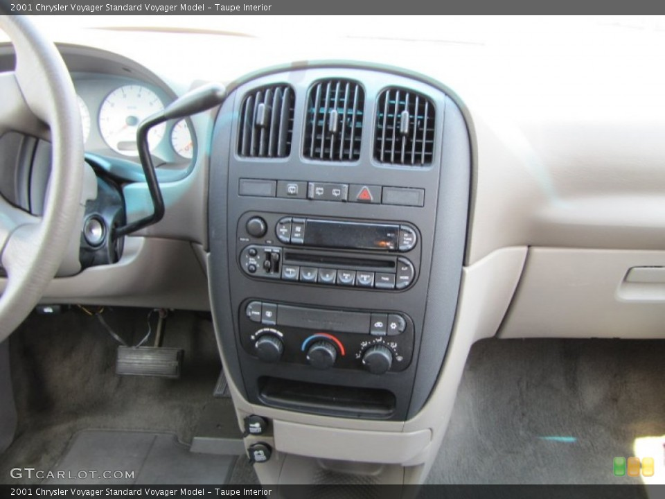 Taupe Interior Controls for the 2001 Chrysler Voyager  #68204975