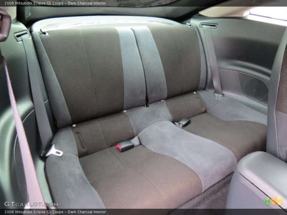 dark charcoal interior rear seat for the 2006 mitsubishi eclipse gs coupe 68211174
